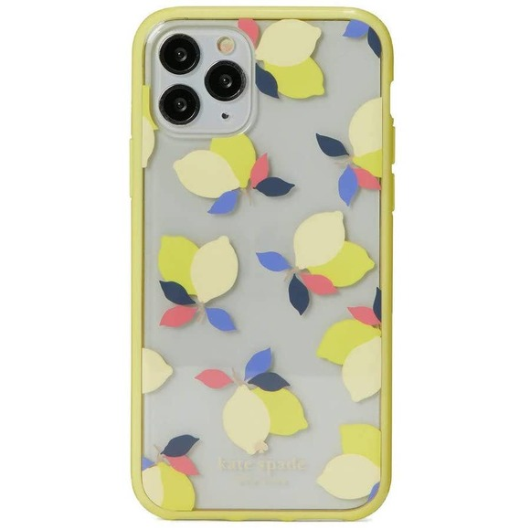 Kate Spade iPhone 11 Pro Case -Lemons Yellow Clear